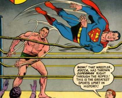 rocca vs superman