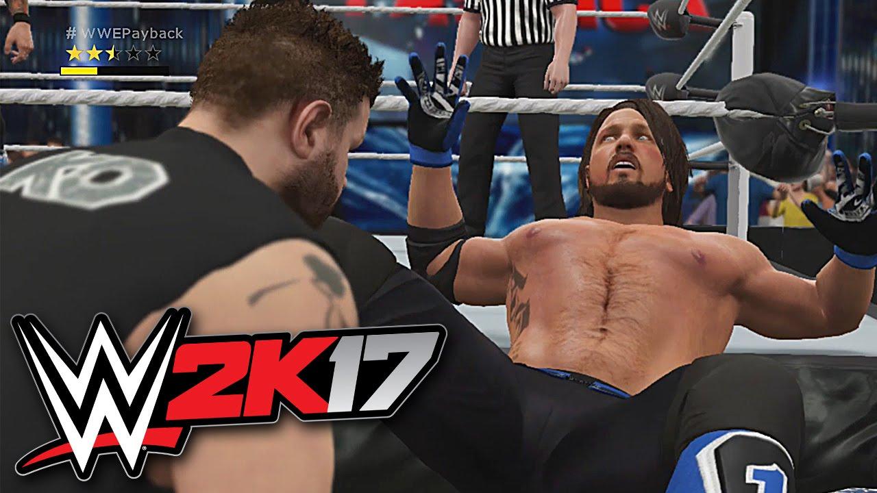 Vidéo : Nouveau gameplay pour WWE 2K17