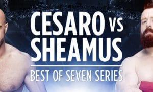 Cesaro Vs. Sheamus