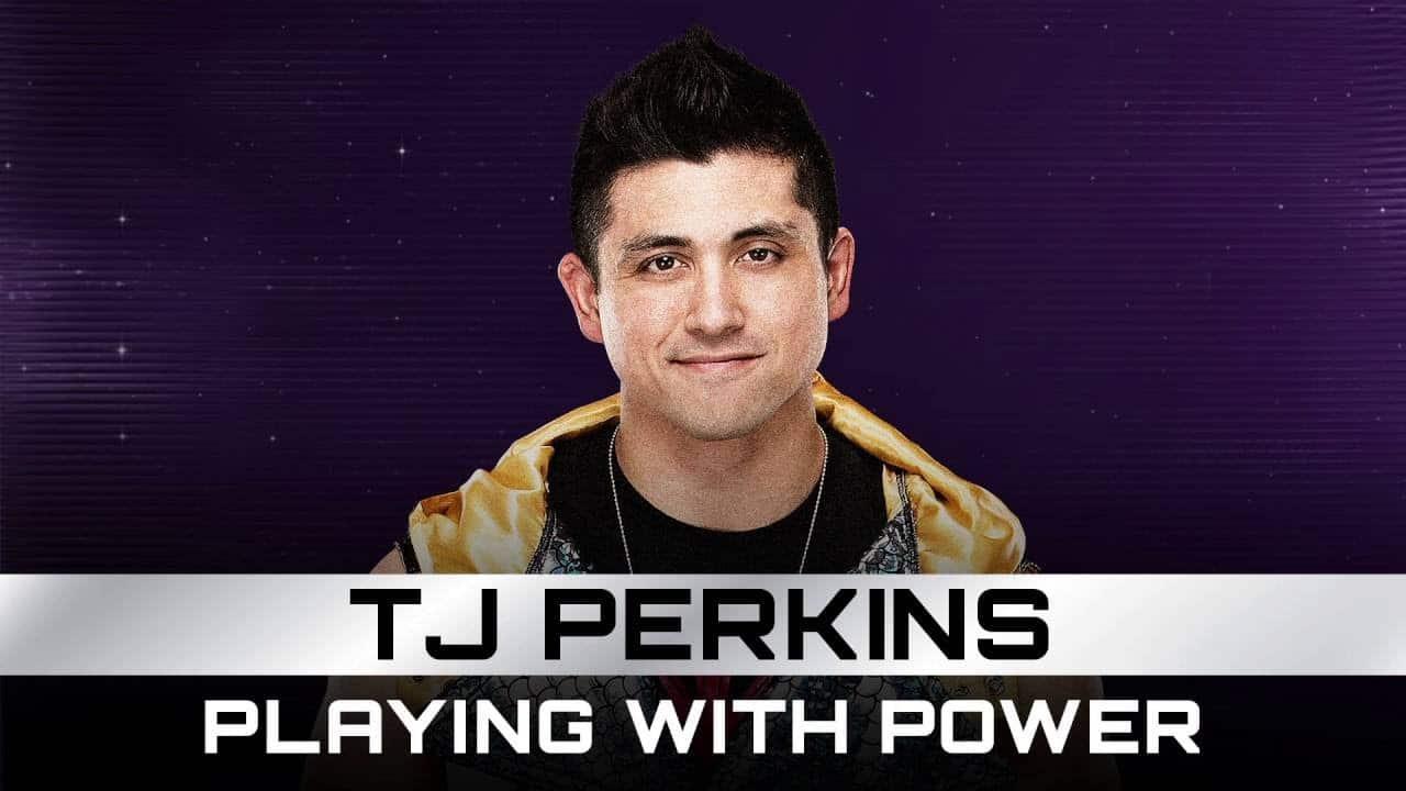 Découvrez la nouvelle musique d'entrée de TJ Perkins