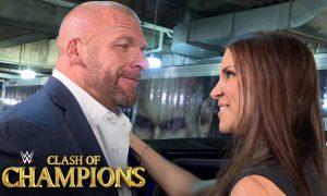 Triple H était bien présent dans les coulisses de Clash of Champions