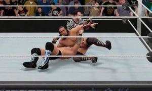 Vidéo : Neville et Chris Jericho s'affrontent sur WWE 2K17