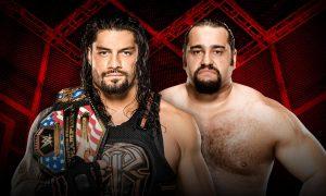 WWE HIAC - Roman Reigns / Rusev