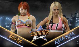 Vidéo : Asuka et Alexa Bliss se confrontent sur WWE 2K17