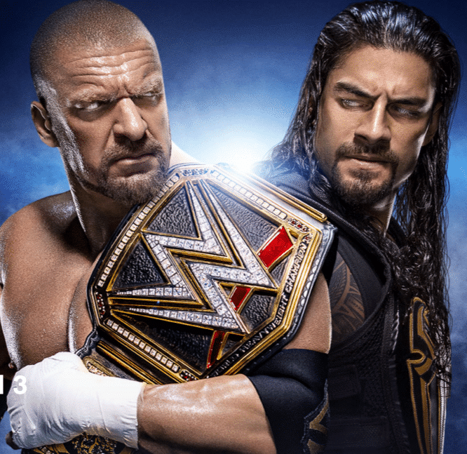 Reigns vs Triple H_WM 32