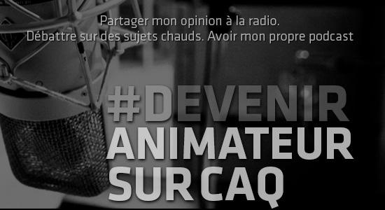 #Devenir animateur caq