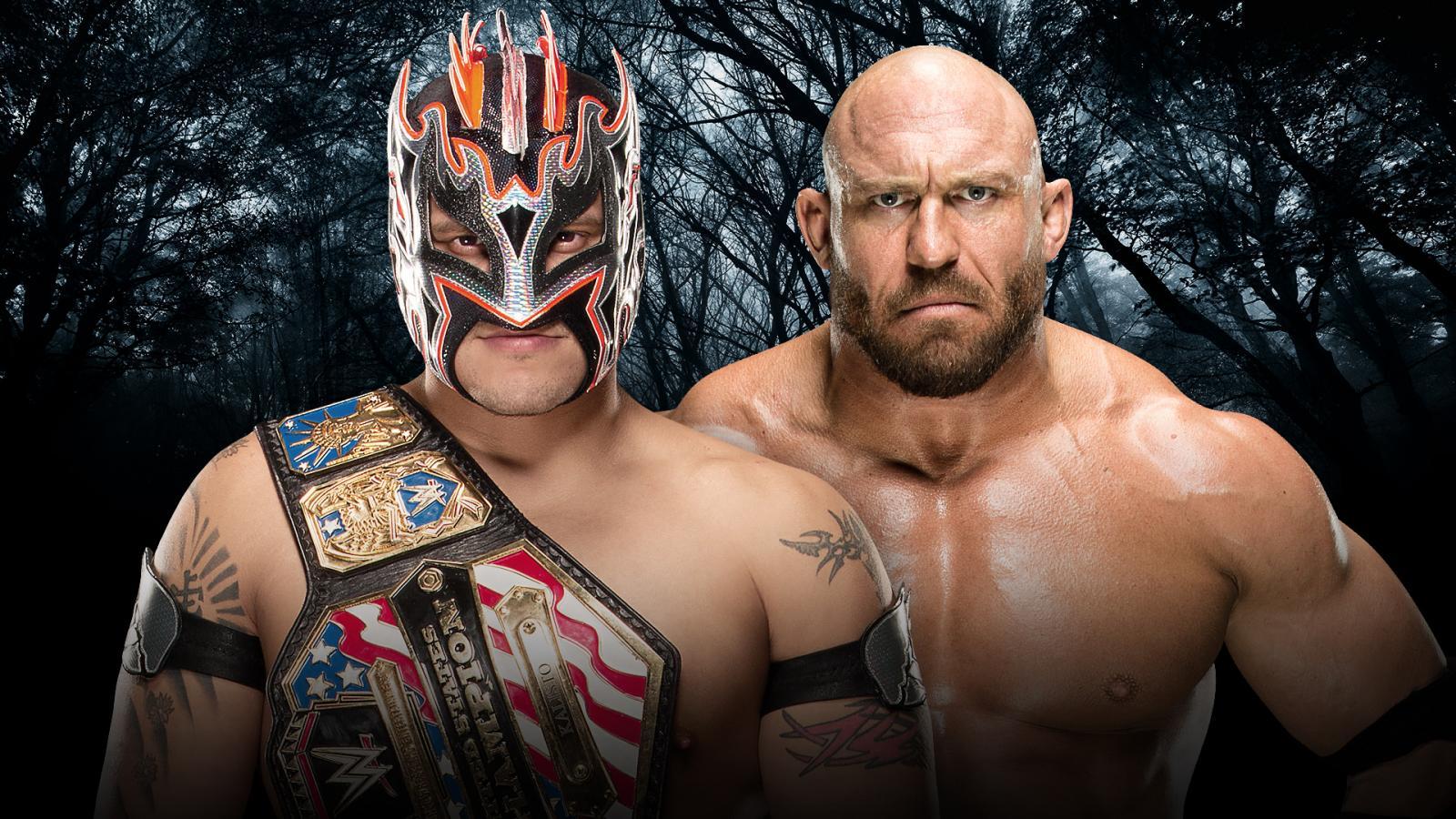 WWE Payback - Kalisto Vs. Ryback