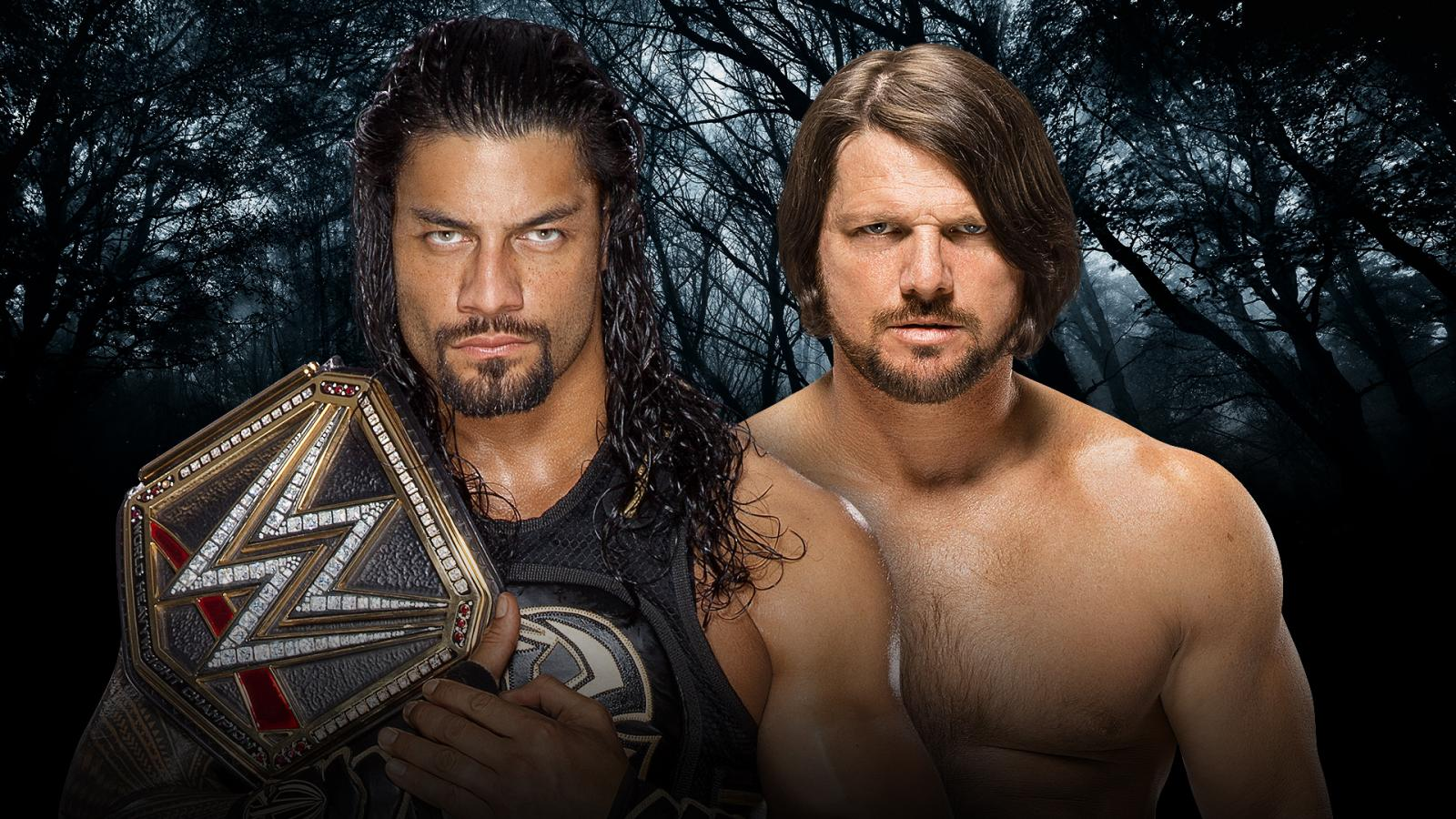 WWE Payback - Roman Reigns Vs. AJ Styles