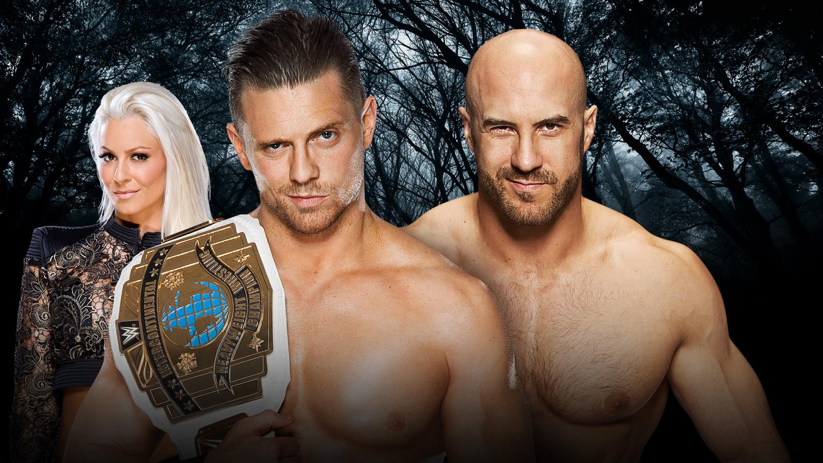 WWE Payback - The Miz Vs. Cesaro