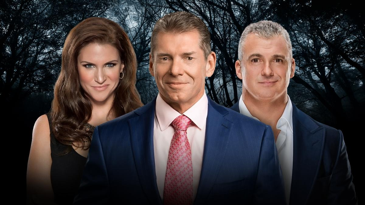 WWE Payback - Vince, Stephanie et Shane McMahon