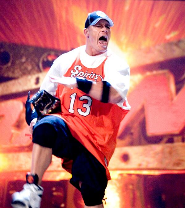 john cena raw draft 2005