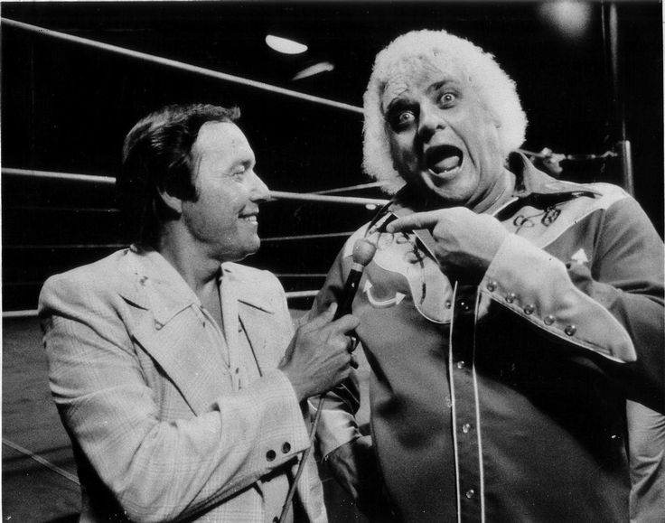 Gordon Solie & Dusty Rhodes