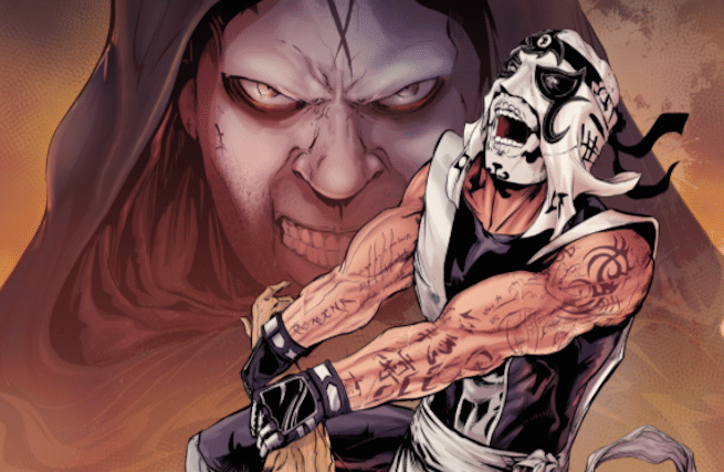 LU comics Pentagon & Vampiro