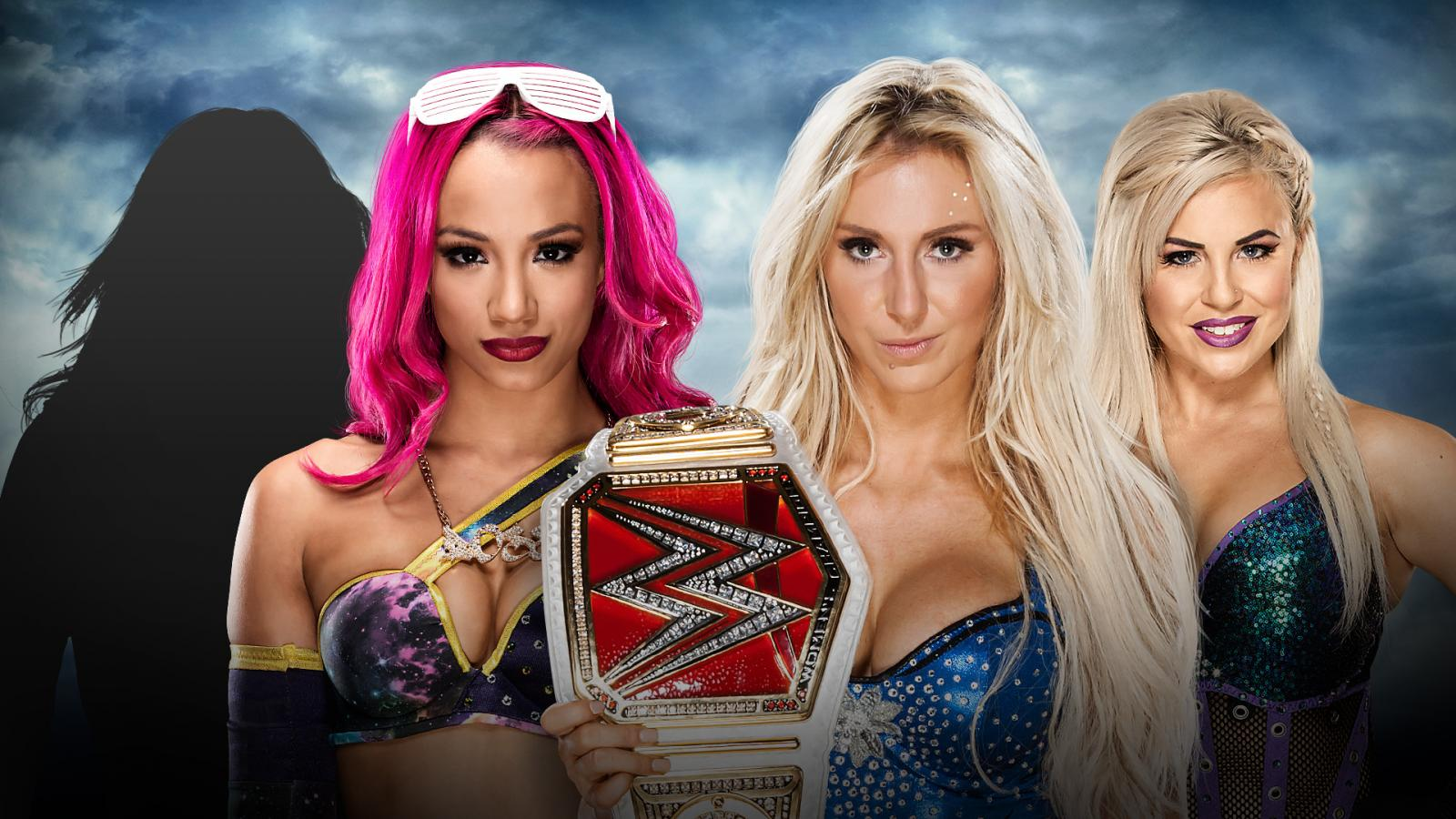Battleground - ??? & Sasha Banks Vs. Charlotte & Dana Brooke