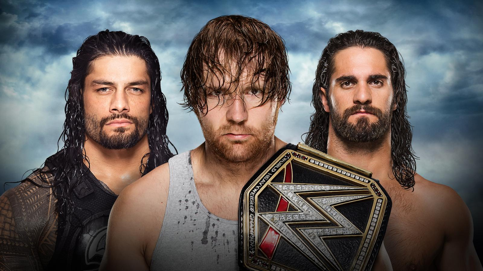 Battleground 2016 - Roman Reigns Vs. Dean Ambrose Vs. Seth Rollins