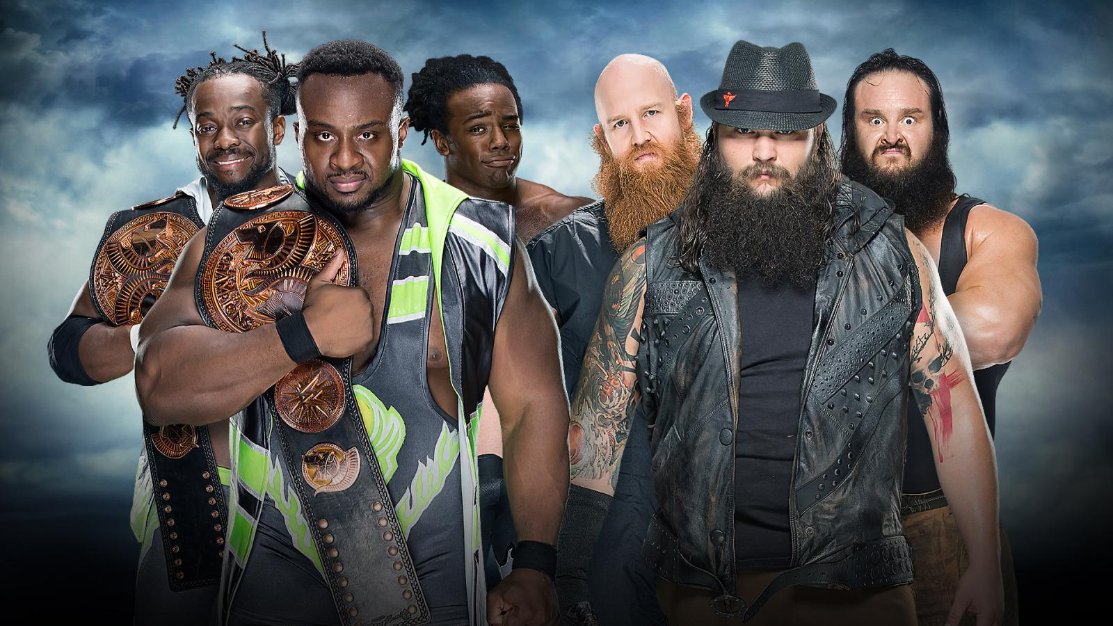 BattleGround - The New Day Vs. The Wyatt Family