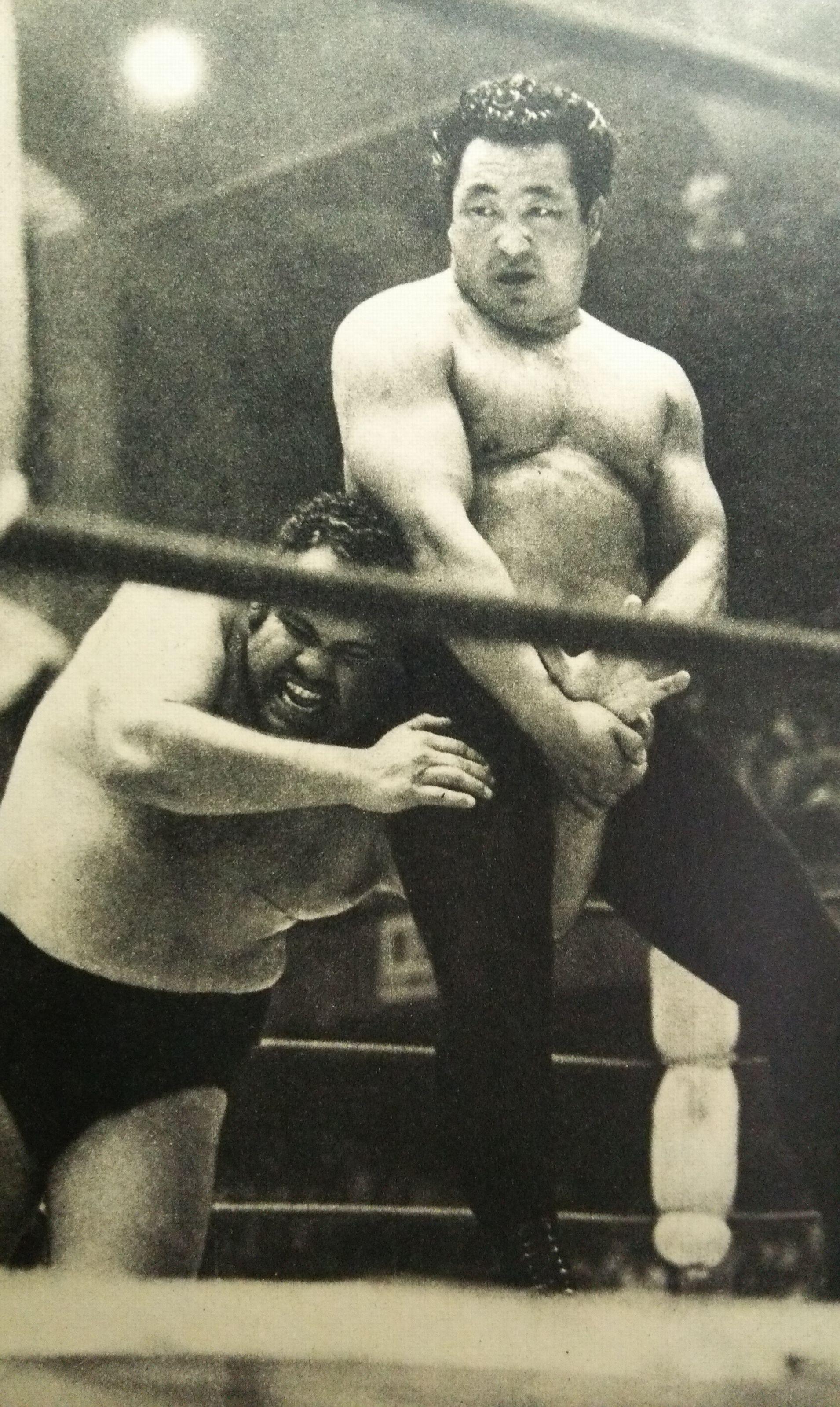 Rikidozan vs american_1955