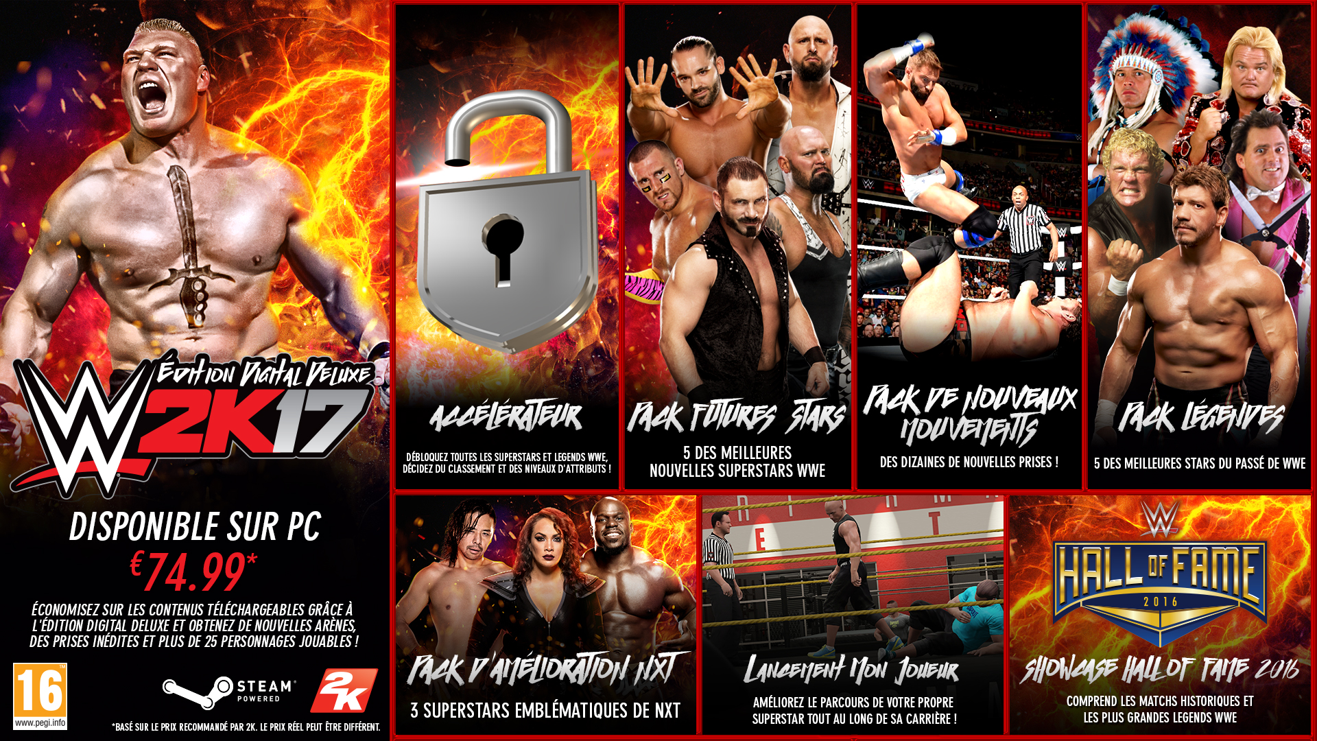 WWE 2K17 Édition Deluxe PC
