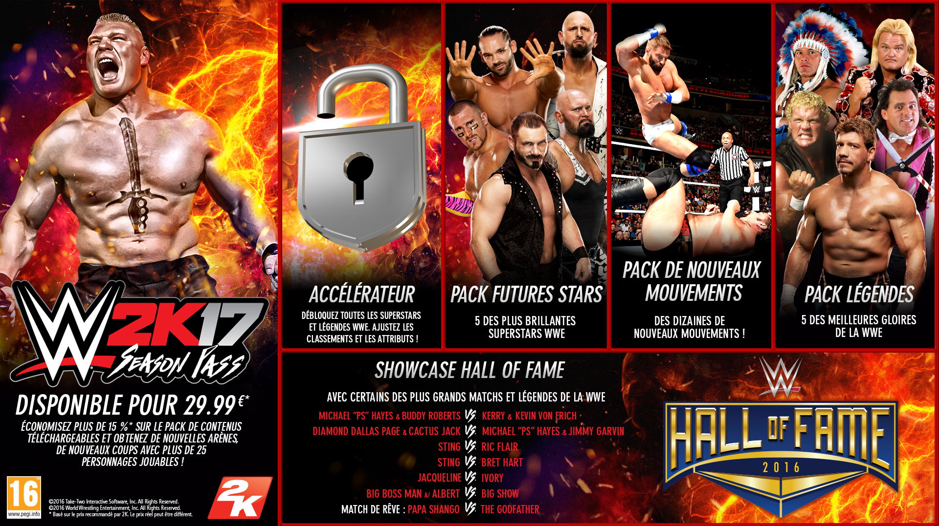 WWE 2K17 Season Pass PC