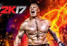 Artwork WWE2K17 Brock Lesnar