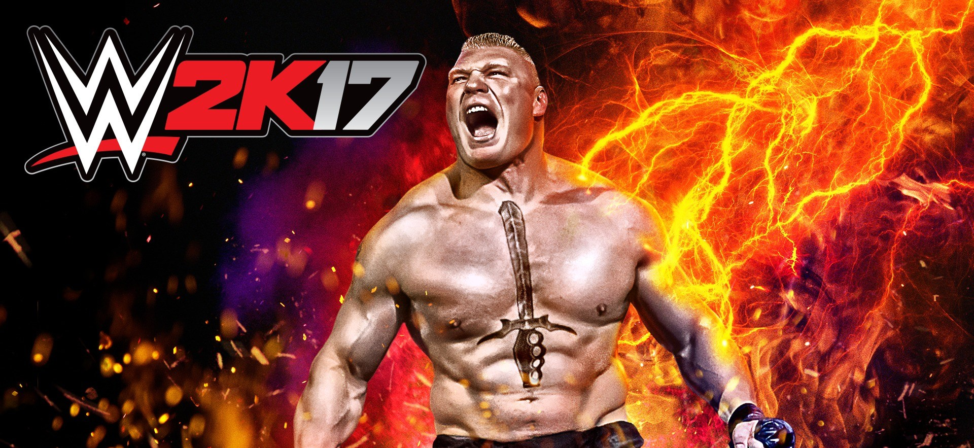Artwork WWE2K17 Brock Lesnar