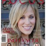 Lilian Garcia en couverture d'un magazine