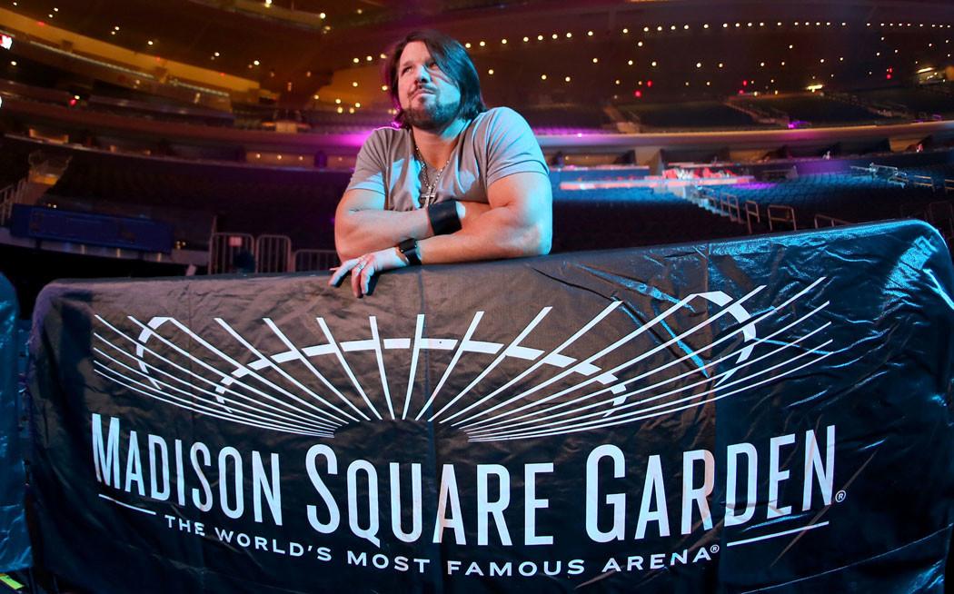Le Madison Square Garden n'est pas très heureux avec la WWE