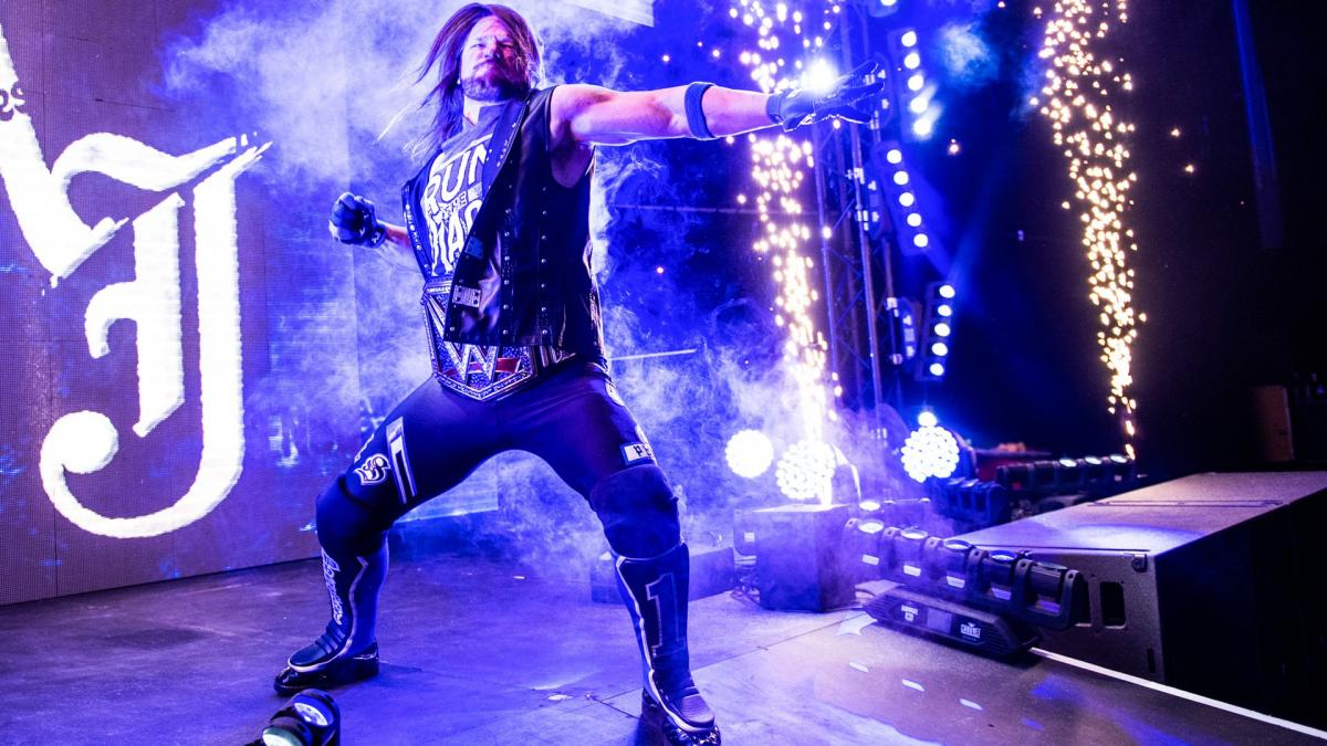 WWE AJ Styles