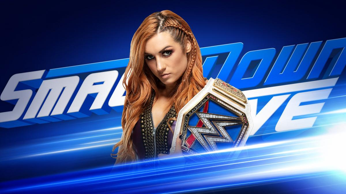 WWE Smackdown Live Becky Lynch