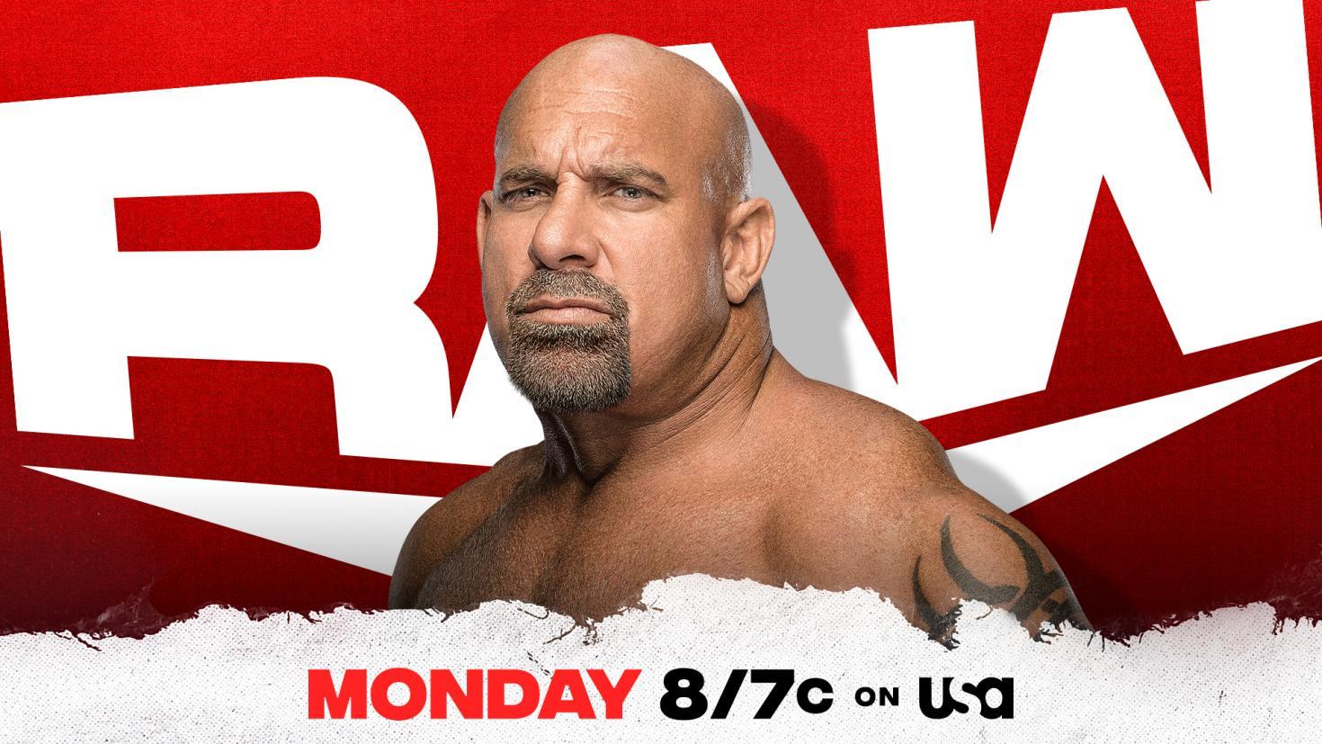 RAW: WWE proclaims Goldberg's presence