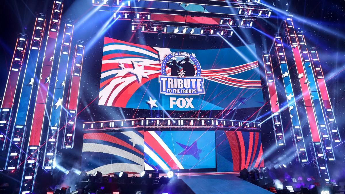 Spoilers for WWE Tribute to the Troops 2021